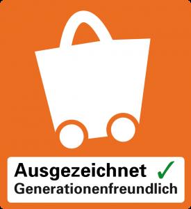 Logo Generationenfreundliches Einkaufen